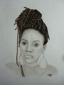 Rastas, Pastellmalerei, Reggae, Portrait