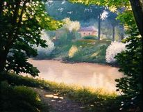 Malerei, Fluss