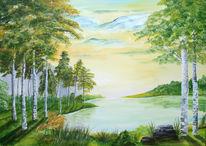 Licht, Ruhe, Landschaft, Wasser