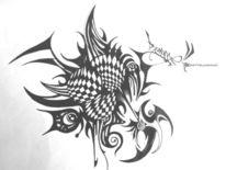 Skurril, Abstrakt, Fantasie, Zeichnungen
