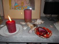 Liebe, Gott, Kerzen, Pinnwand