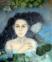 Vergänglichkeit, Meditation, Symbolik, Ölmalerei