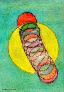 Spirale, Licht, Bauhaus, Farben