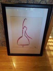 Tanz, Zeichnung, Zeichnungen, Feder