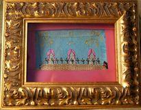 Musik, Tänzer, Ballett, Textilhandwerk