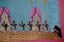Tänzer, Ballett, Textilkunst, Musik