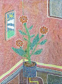 Punkt, Wohnung, Bunt, Blumen