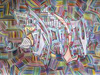 Graffiti, Schrill, Streetart, 2pac
