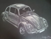 Auto, Käfer, Zeichnungen