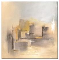 Modern, Acrylmalerei, Sand, Storm