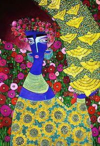 Blumen, Madame, Sehnsucht, Gelb