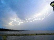Wetter, Zingst, Blitz, Seebrücke
