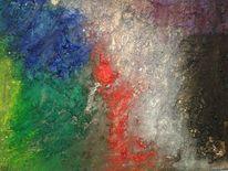Bunt, Abstrakt, Acrylmalerei, Fantasie
