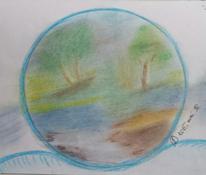 Grün, Wasser, Braun, Baum