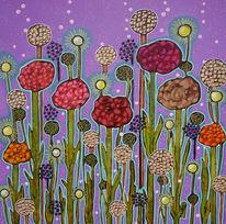 Blüte, Dezemberfrühling, Blumen, Malerei