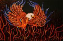 Malerei, Adler