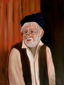 Malerei, Alter, Mann