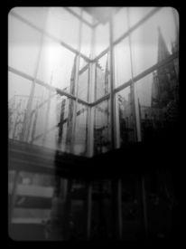 Abstrakt, Monochrom, Köln, Dom