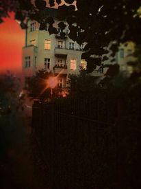 Abend, Hauptstadt, Berlin, Fotografie