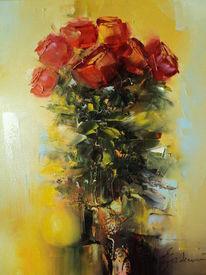 Modern, Idylle, Alt, Blumen