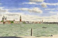 Malerei, Figurativ, Farben, Venedig