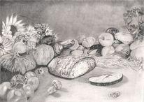 Zwiebeln, Getreide, Ernte, Brot