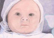 Kind, Baby, Portrait, Zeichnungen