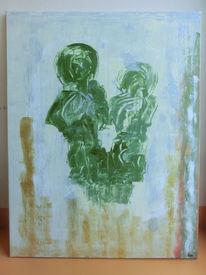Abstrakt, Vertrauen, Menschen, Malerei