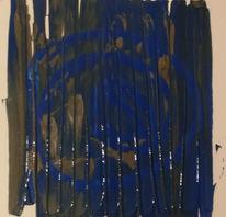 Spachtel, Ruhe, Acrylmalerei, Malerei