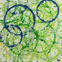 Verbundenheit, Kreis, Becher, Malerei