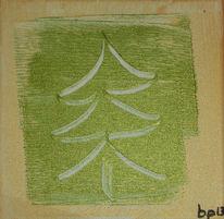 Weihnachten, Baum, Gold, Kratzen
