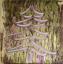 Baum, Pflanzen, Landschaft, Kratzen