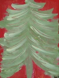 Besinnlichkeit, Weihnachten, Dicht, Baum