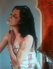Wandmalerei, Hamam, Malerei