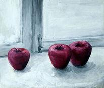 Apfel, Ernte, Herbst, Malerei