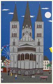 Bonn münsterkirche, Malerei