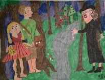 Menschen, Hänsel, Märchen, Portrait