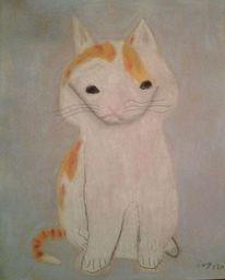 Katze, Kater, Pastellmalerei, Zeichnung