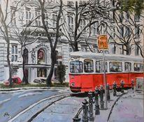 Straßenbahn, Malerei