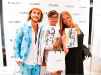 Hanro of switzerland, Store openings, 5 mio münchner, The million painter