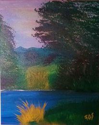 Grün, Wasser, Landschaft, Baum