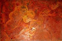 Acrylmalerei, Nagel, Holz, Collage