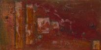 Muschel, Acrylmalerei, Holz, Malerei