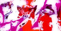 Acrylmalerei, Abstrakt, Mischtechnik