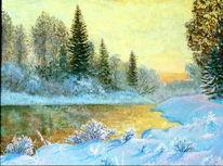 Malerei, Meine bilder, Winter