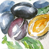 Obst, Pflaume, Lila, Violett
