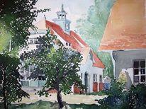 Landschaft, Berlin, Brandenburg, Sakow