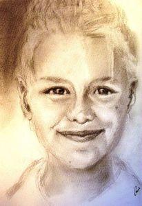 Portrait, Aquarellmalerei, Zeichnungen