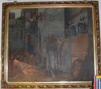 Petrus gethsemane verleumdung, Malerei, Ehe, Hahn