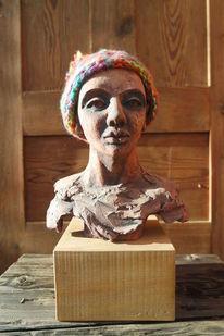 Figur, Skulptur, Frau, Statuette